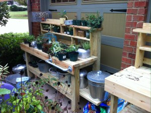 Potting Bench 3 Treated